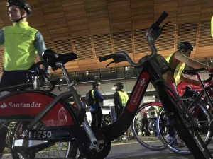 I did the ride on a Boris bike, which is not as slow as you might think.